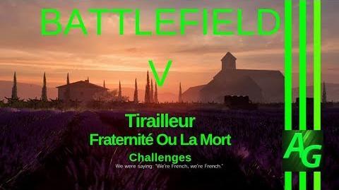 Battlefield V Tirailleur - Fraternité Ou La Mort - Challenges