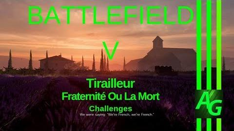 Battlefiled V Tirailleur - Fraternité Ou La Mort - Challenges