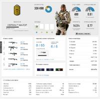 Battlelog Stat Page Example