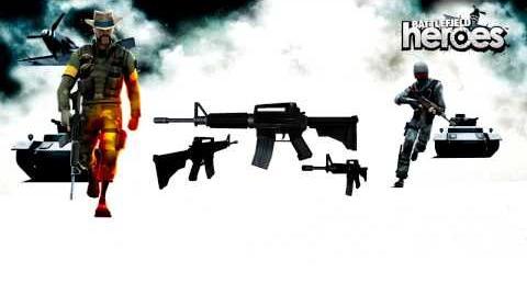 Battlefield Heroes - M16 Sound