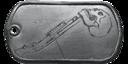 BF4 Shotgun Medal Dog Tag