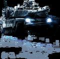 Battlefield 3 M1 Abrams HQ Render