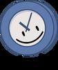 Clock smile wide