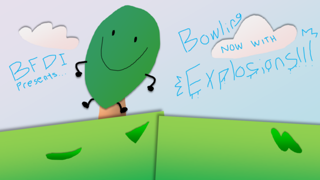File:Bfdi fan made title cards bowling w explosions by gatlinggroink58-d7ko4jw.png