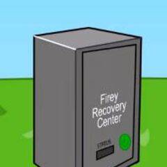 The Firey Recovery Center, as seen in episode 6.