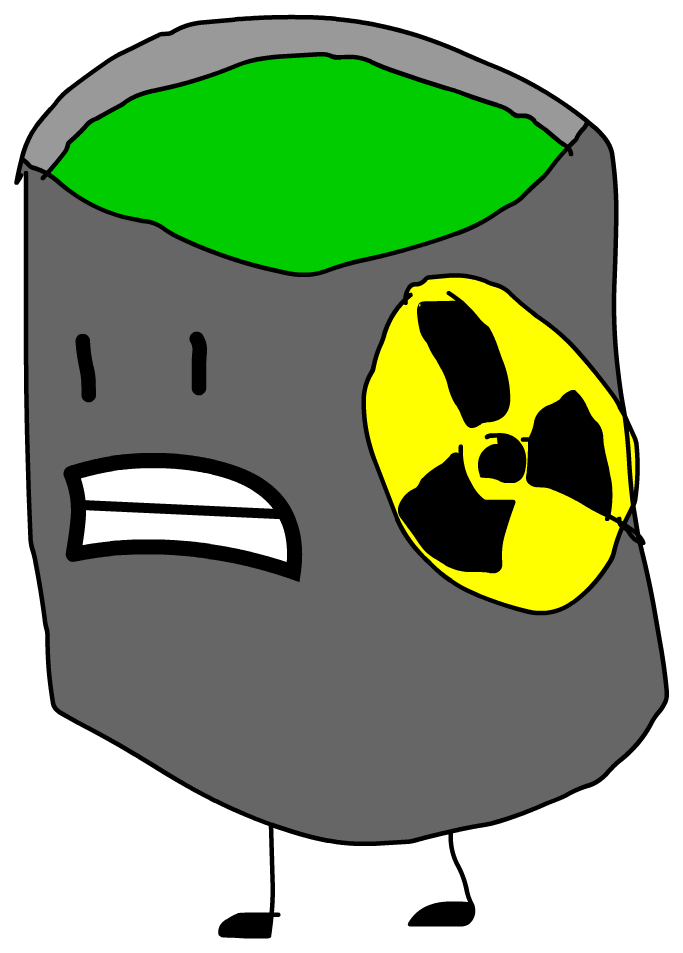 Rc Toxic Waste Can