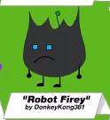 RobotFirey BFDI24