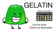 Vote for Gelatin BFDIA 2