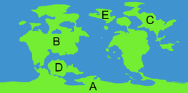 World Map Labeled