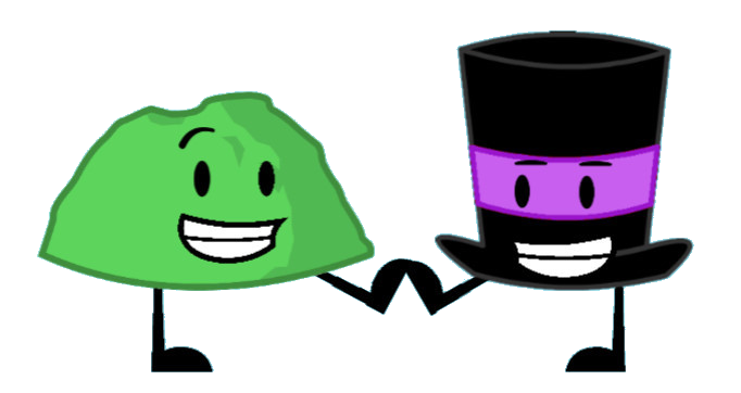 Image Low Five Green Rocky And Purple Top Hat Png