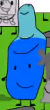 Blue Water Bottle bfdi16