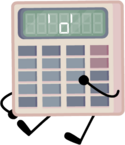 P&B Calculator Pose