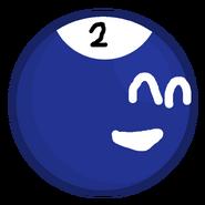 2-Ball pose