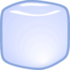 Wittle ice cube asset angled