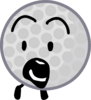 Golf Ball scared