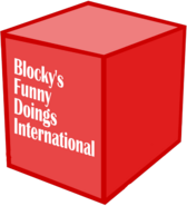 Blocky's funny doings international