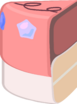 Pinscake slice 2