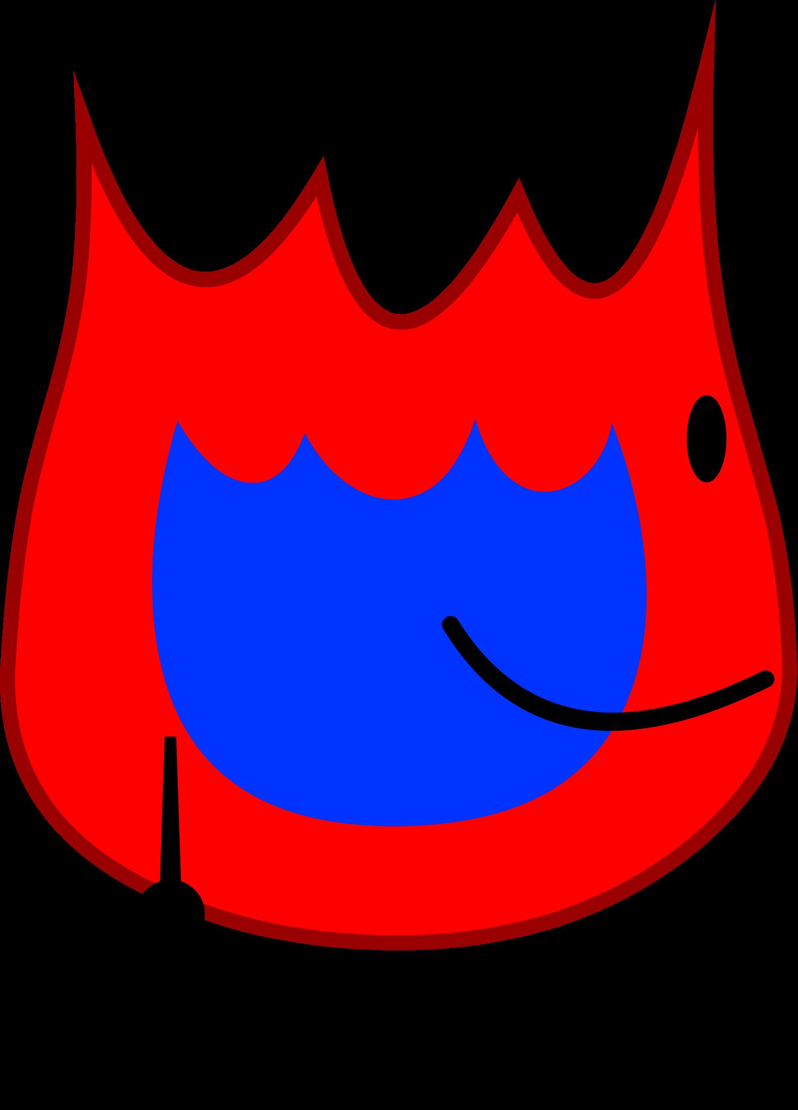 RedBlueFirey BFDI24