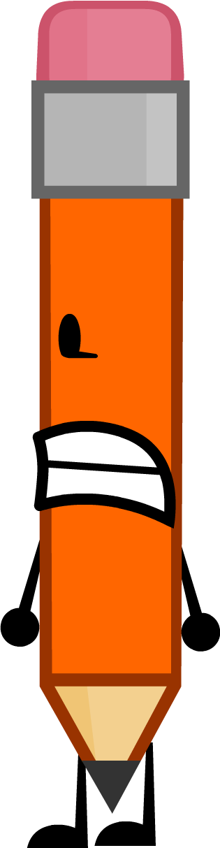 Rc Orange Pencil