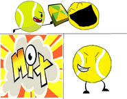 Tb + yellow face + mixels cubit = yellow ball