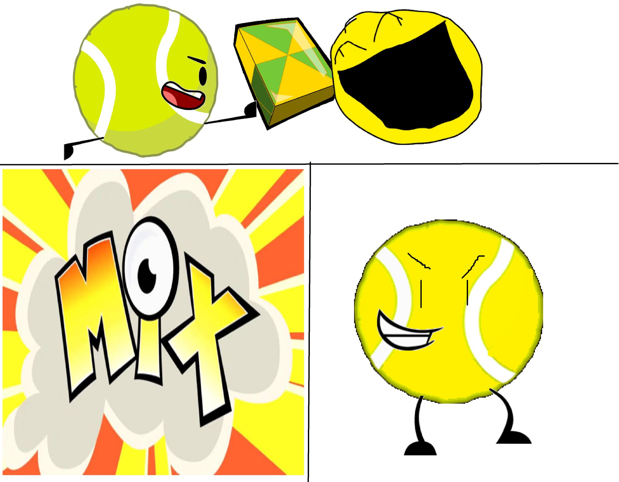 Tb + Yellow Face + Mixels Cubit = Yellow Ball.png