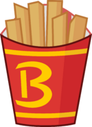 Fries with B