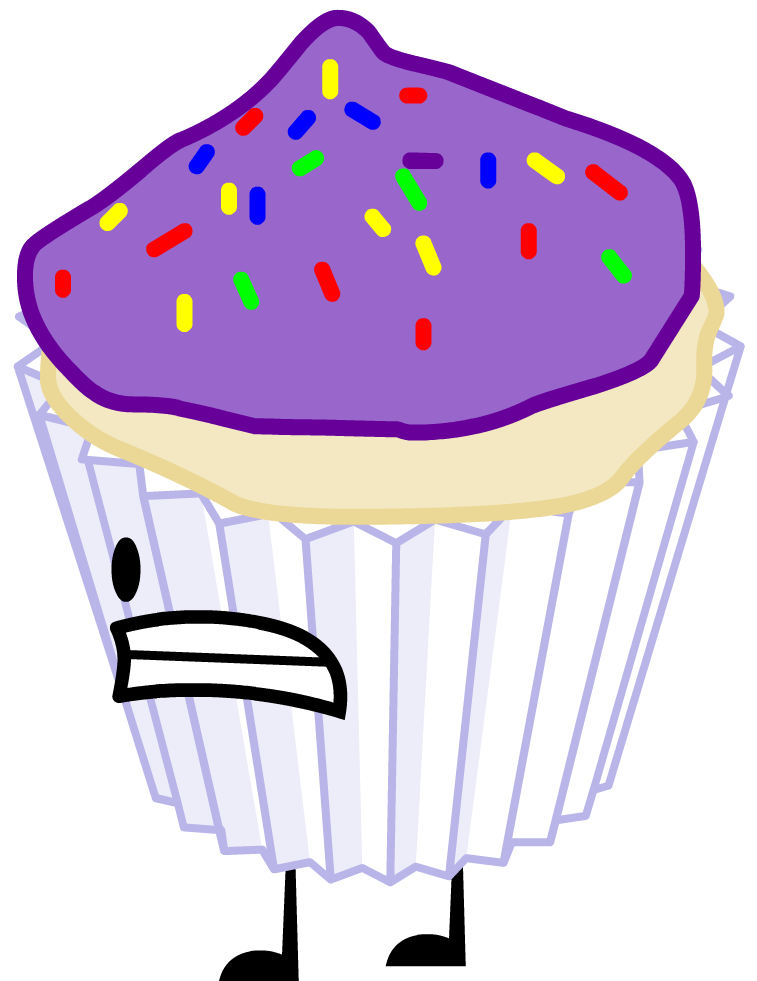 Rc Fluffy Purple Cupcake