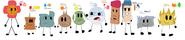 BFDI Descendants
