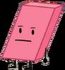 Eraser Paper Tower Pose