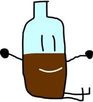 Rc Coke Bottle