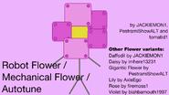 Robot Flower Rejoin Line