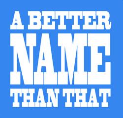 Hanger better namers