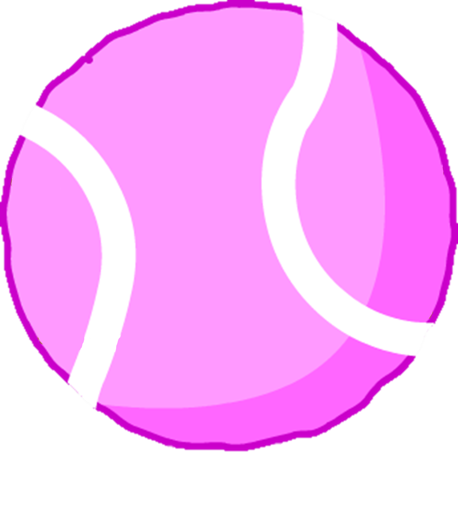 Image pink tennis ball assetg battle for dream island wiki thumbnail for version as of 1912 january 29 2018 buycottarizona