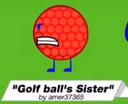 Golfball sisty