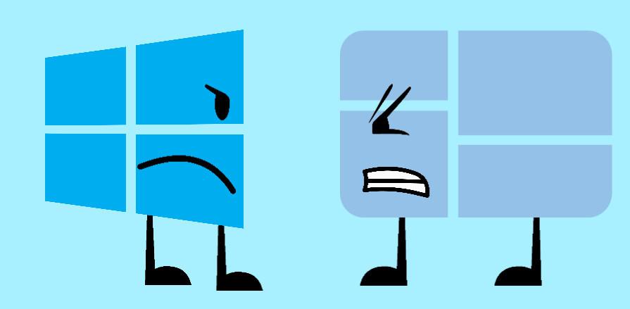 image windows 810 logo vs windows 1 logopng battle