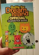 BFDI Official Character Guide cover 2