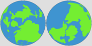 Orthographic Projection of Earth 2
