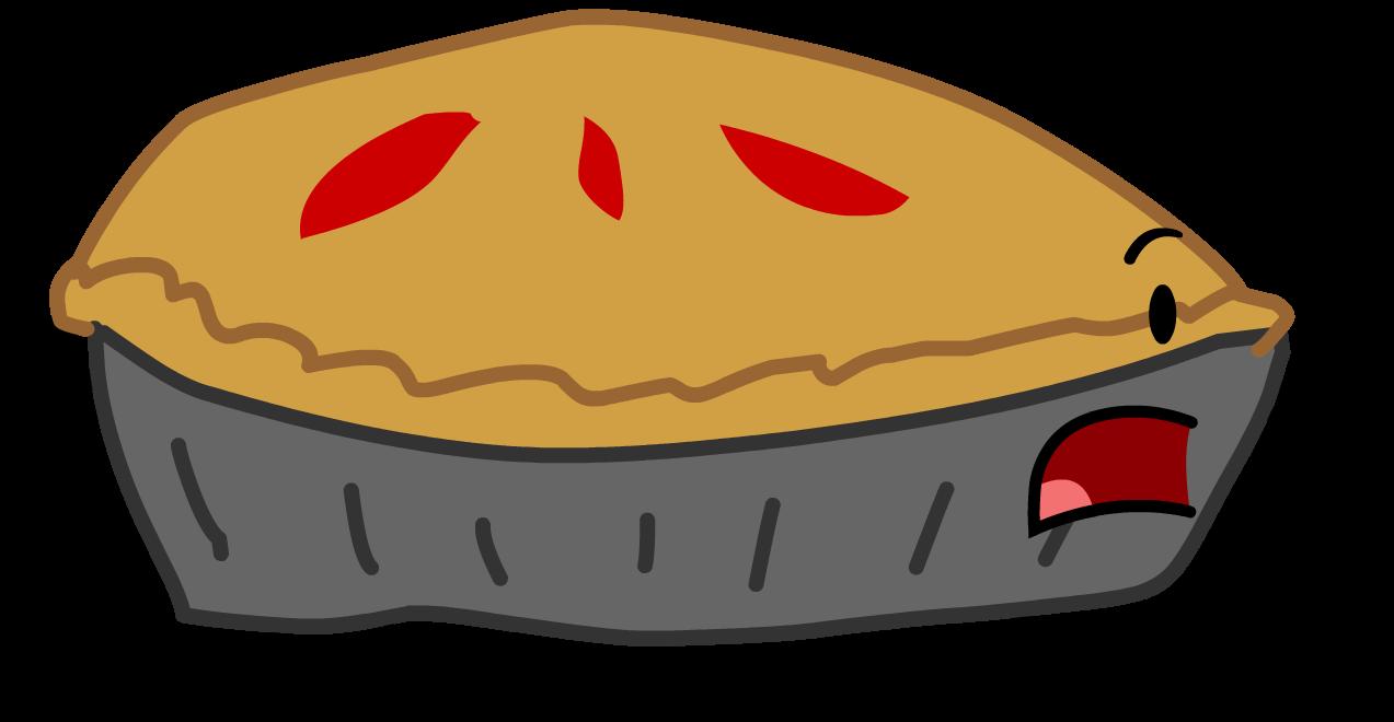 Red pie man