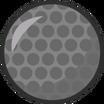 BFDI Metal Golf Ball