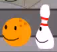 Bowling Ball and Bowling Pin bfdi16