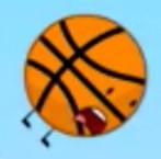 Basketball Falling
