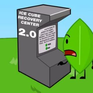 Leafy using the Ice Cube Recovery Center 2.0 in <a href=