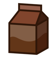 Chocolate milk without text