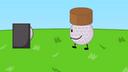 Well, Golf Ball's dirt cake is better than Coiny's dirt cake
