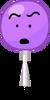 Lollipop when she realised she got licked