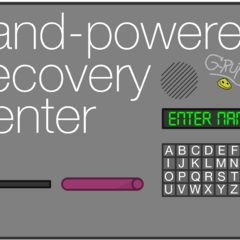 Hand-Powered Recovery Center