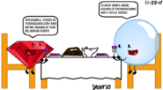 Bubble and Ruby were having a Thanksgiving Feast with Yoyle Sauce (Thanksgiving Day Special)