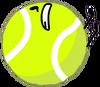 Tennis ball fall