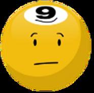 A Yellow 8-Ball