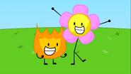 Firey and Flower